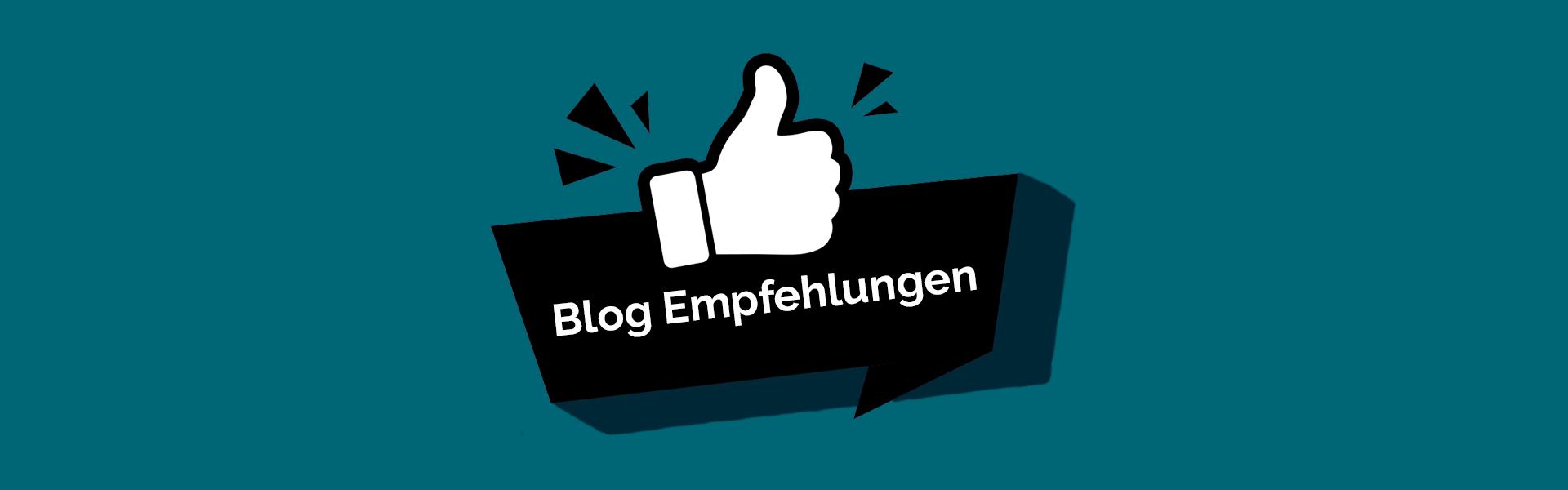 Headerbild Blog Empfehlungen