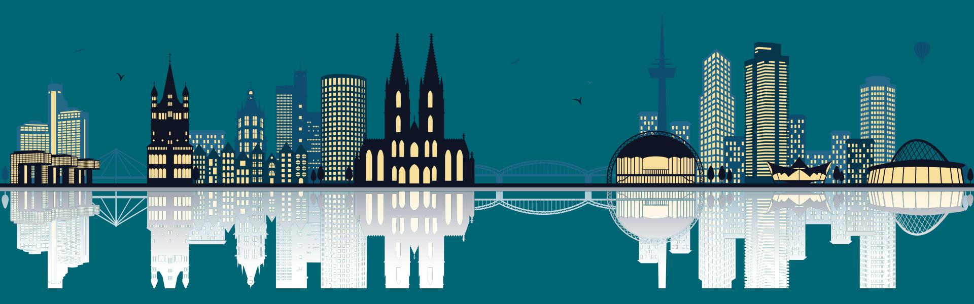 Headerbild Köln Guide - Panorama Köln